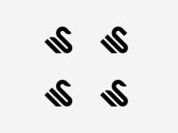 Swan + Letter S Logo 2