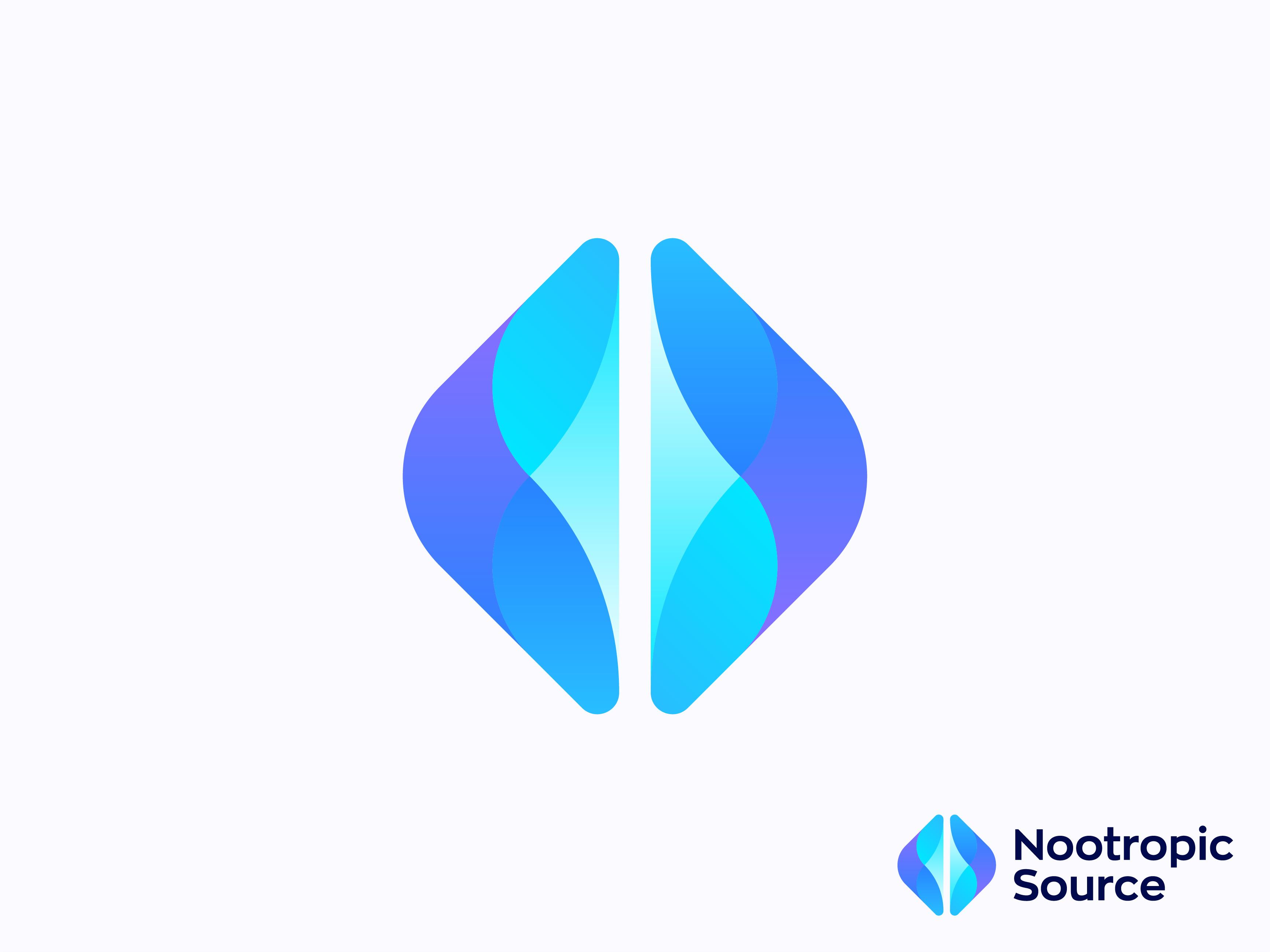 Nootropic Source Logo Design By Hristijan Eftimov Dribbble Dribbble