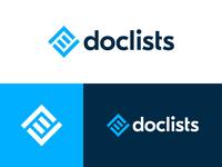 Doclists Logo Design