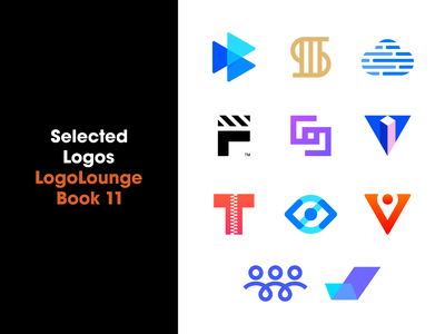 Logolounge Book 11 Selected Logos play letter s cloud ai colorful modern minimalist logos logo designer logo design published designer logo collection logo lounge book 11 logolounge