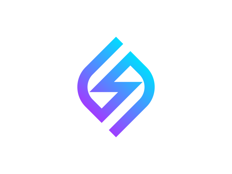 CPE (Clean Power Energy) Group branding technology gradient modern dribbble logo logo designer design modern minimalist leaf lightning bolt clean energy sustainability futuristic connection connect merge elements