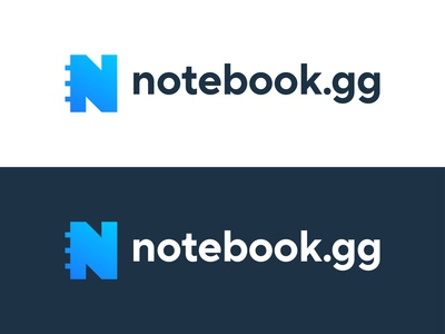 Notebook.gg | Logo Design Concept 2