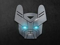 French Bulldog Transformers LOGO