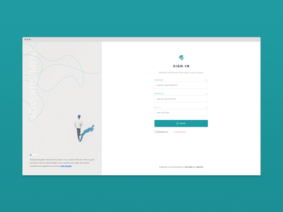 Login / Sign In Page with Advertisement concept design.. sign in with testimonial login with testimonial app login page app login page design app login app sign in sign in design adobe xd application sign in clean login clean sign in login page sign in page login sign in