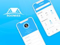Roomies App - UI/Ux