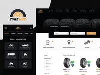 Tyre Hub Web Design - UI/UX