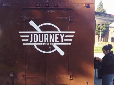 Journey Coffee Truck Logo
