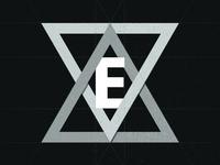 Triangular E