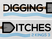 Digging Ditches