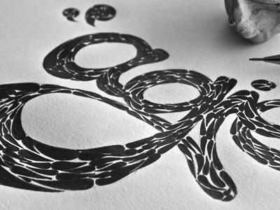 #step 2: Textures «magie» guerriero typographie calligraphie