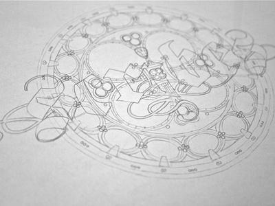 #step 2: «Scribes» {Rough} guerriero typographie calligraphie