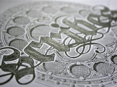 #step 5: «Scribes» {Final Work} guerriero typographie calligraphie