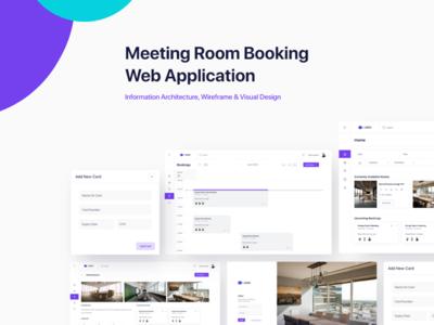 Meeting room booking web application daily ui location office app design meetings desktop app workspace workplace dashboard booking
