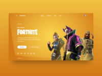 Game web page design