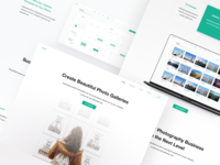 Landing page Design for Element