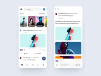 Facebook Mobile App Redesign Concept