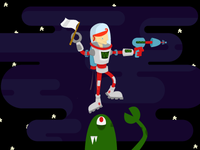 SPACEMAN'S LAST STAND