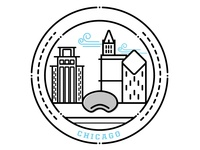 City Badge: Chicago
