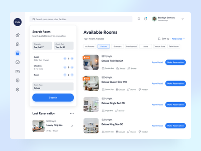 Hotel Reservation Page appdesign uiux company website clean minimal booking appointment reservation hotel dashboard web app