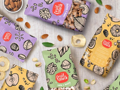 Fruit Snack - Packaging and Brand Identity