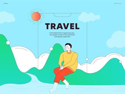 Travel 02 vector illustration