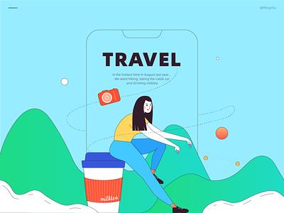 Travel 01 vector illustration