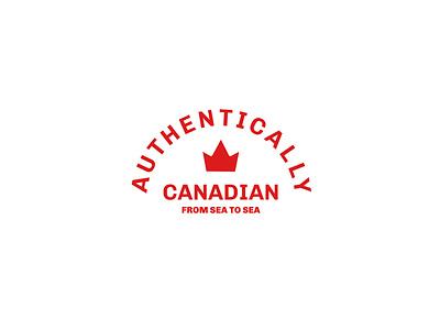 Thirty Day Logo Challenge - Day 17 branding and identity logo design logotype logos brandidentity authentically canadian logo branding design brand identity logocore branding logodesign logochallenge logo design