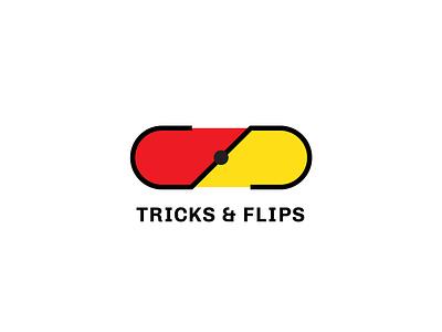 Thirty Day Logo Challenge - Day 23 logotype tricksandflips logo design brand design branding design branding and identity logocore design branding logodesign logochallenge logo