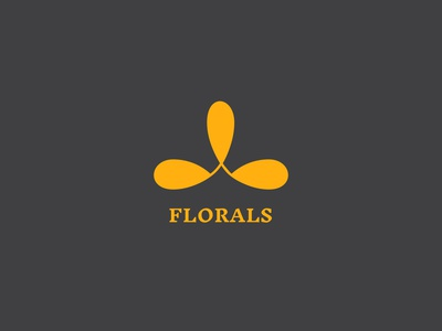 Thirty Day Logo Challenge - Day 24 floral flat design florals logo florals logotype branding and identity branding design brand identity logo design logocore branding logodesign logochallenge logo