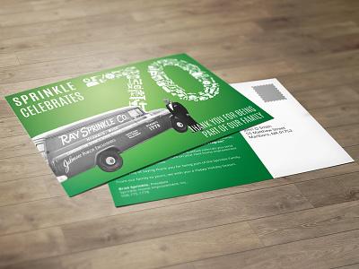 Sprinkle Postcard Mailer design print mailer direct