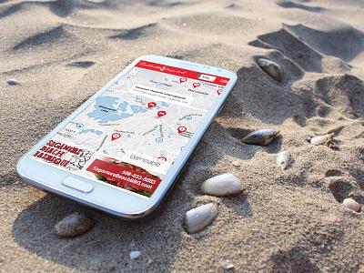 Destinationcapecod.com responsive web design mobile ui ux app