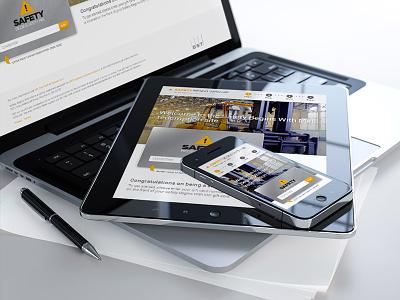 Safety First ui ux development design ecommerce responsive web