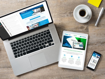 Financial Media Exchange Marketing Emails responsive html email marketing