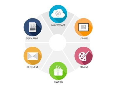 DST Customer Communications Product Wheel shadow design product icon
