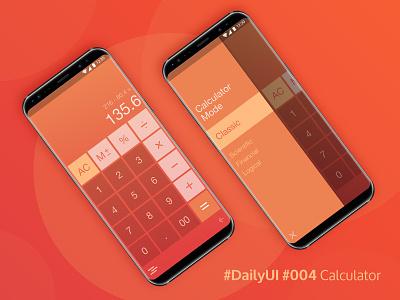 Daily UI 004: Calculator ui design interface calculator app mobile 004 daily ui