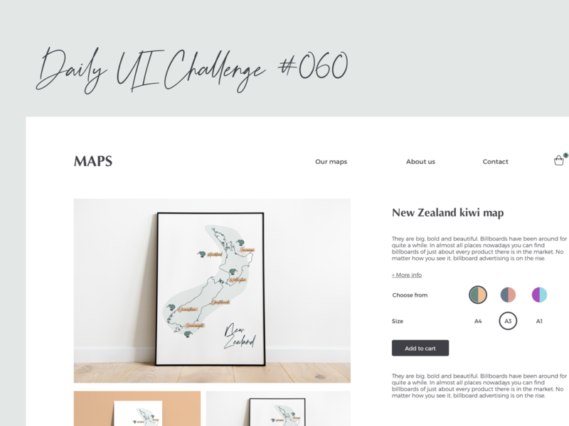 Daily UI Challenge #060 map color picker illustration website web ux sketch dailyui ui design