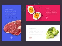 FOODERY FIT - Ingredients Slider UI