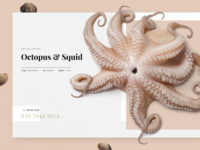 Octopus Product Page UI