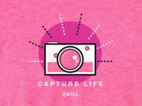 Qwill Capture Life T-Shirt