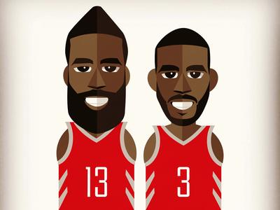 CP3 & The Beard