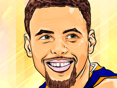 Steph Curry Illustration