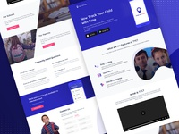 Track Your Child - Landing Page