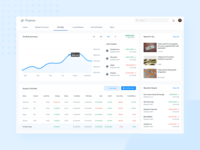 Google Finance Redesign Concept