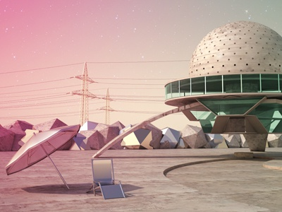 the planetario don zeta c4d vray portfolio 3d digital art art direction