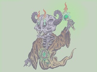Skull Demon Wizard
