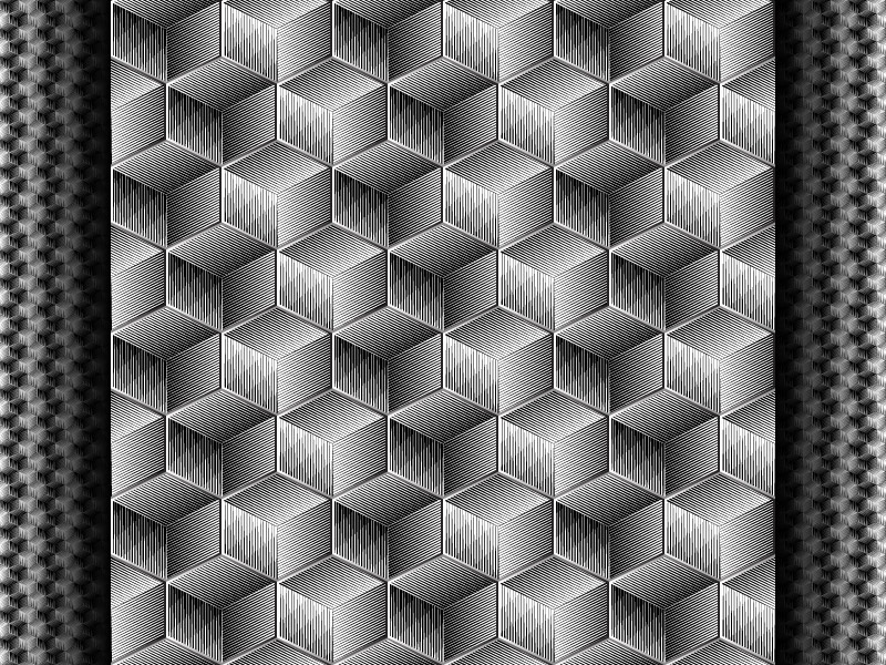 2018 June 4 - Daily Vector illustrator black and white seamless pattern vector