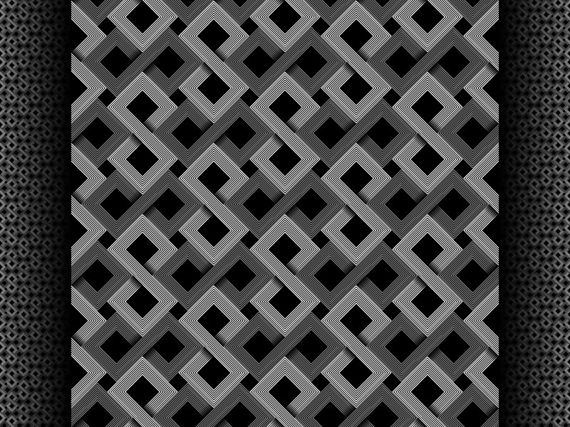 2018 June 11 - Daily Vector illustrator black and white seamless pattern vector