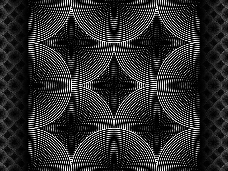 2018 June 14 - Daily Vector illustrator black and white seamless pattern vector