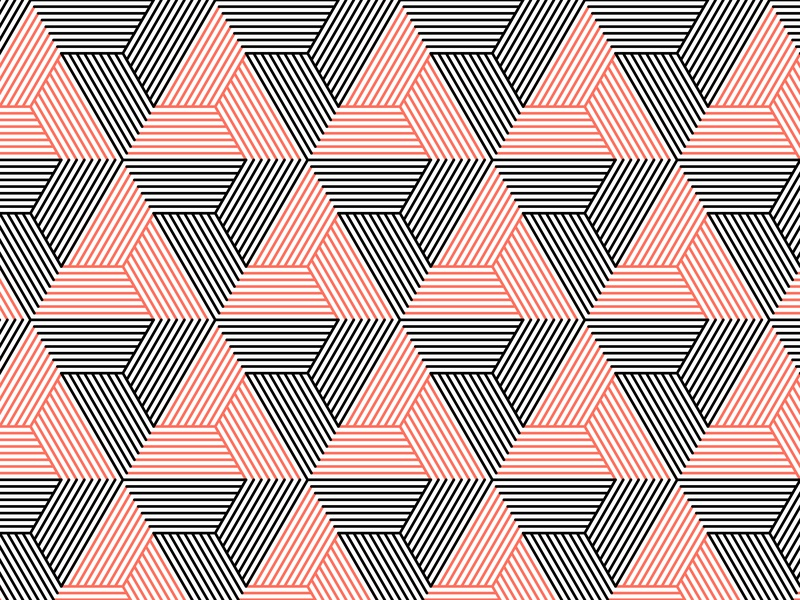 16.January.2019 pantone color of the year patterns opart lines stripes shadows illustrator shapes blend art blend tool daily vector