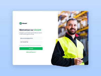 iziwork Website Worker Signup